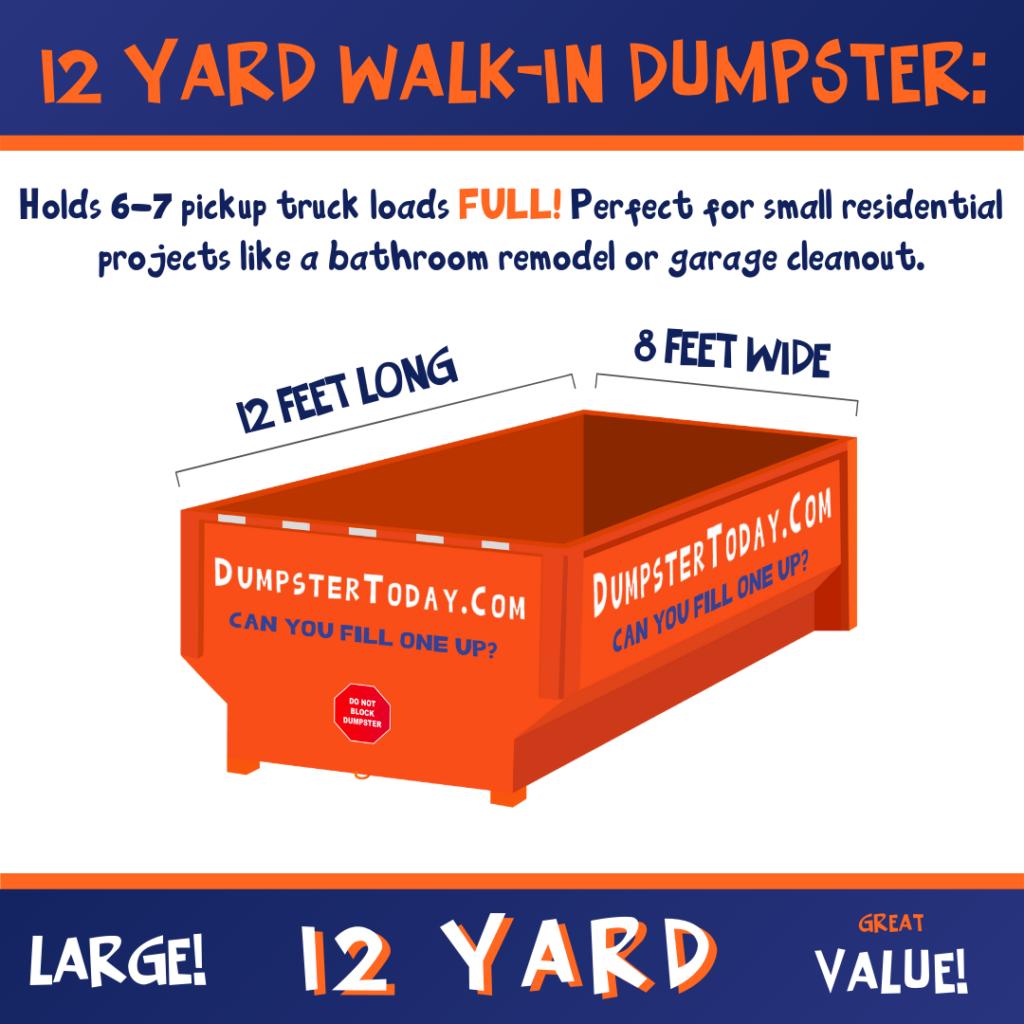 Dumpster Rental Columbus 12 Yard