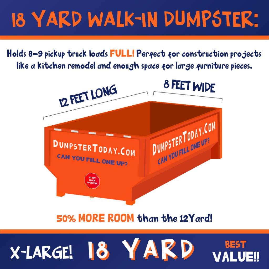 Dumpster Rental Columbus 18 Yard