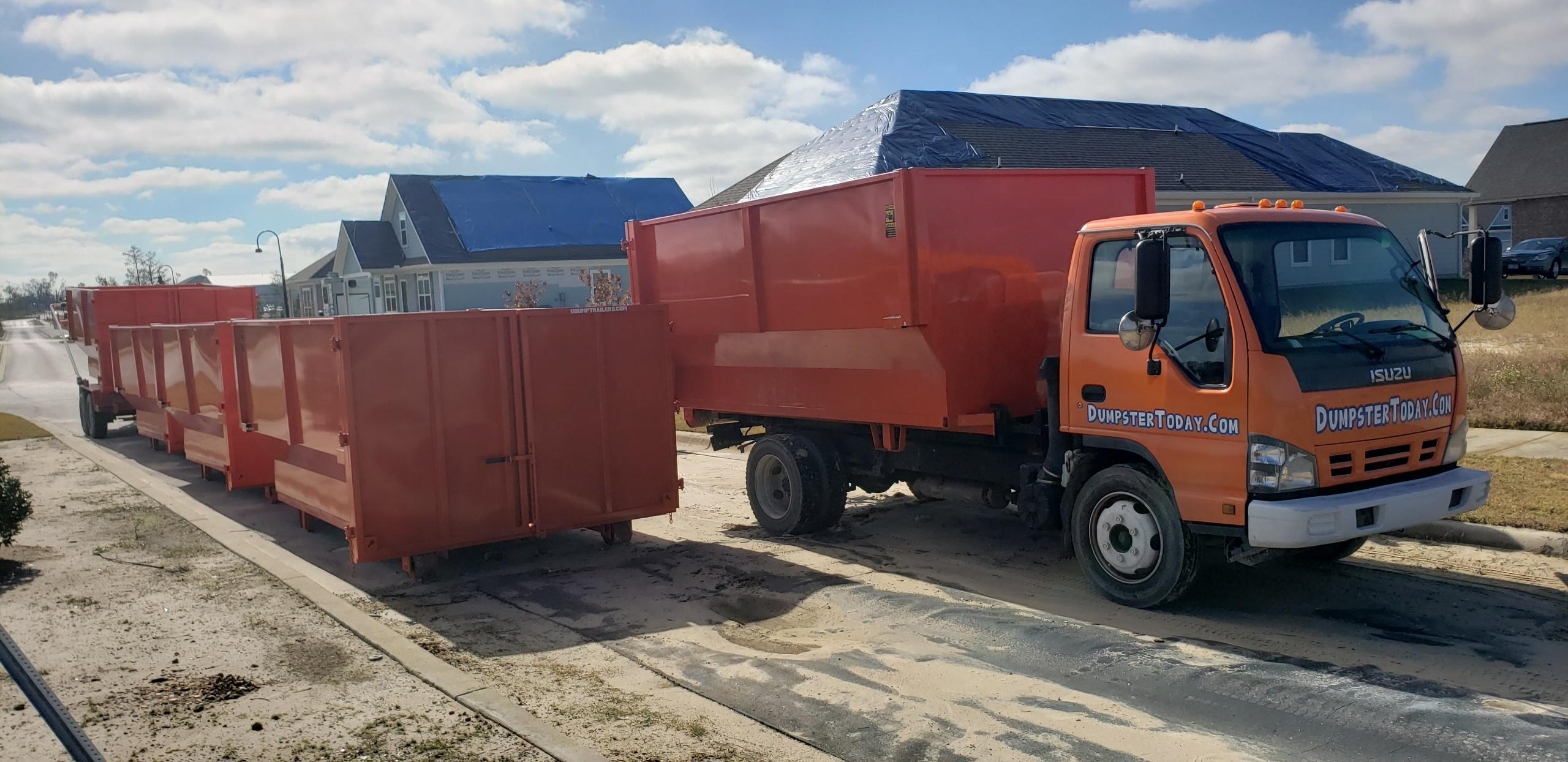 Dumpster Today Fast Dumpster Delivery Orlando